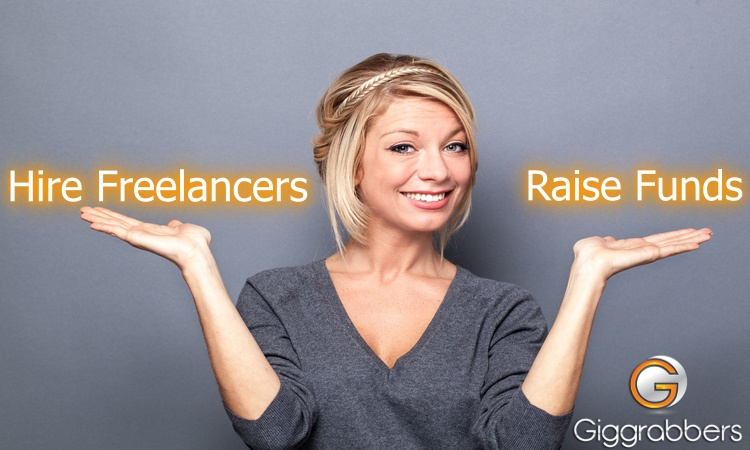Giggrabbers - Hire Freelancers - Start Crowdfunding
